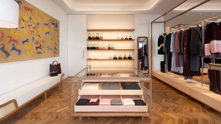 Gabriela Hearst Store London  / Foster + Partners, Courtesy of Foster+Partners