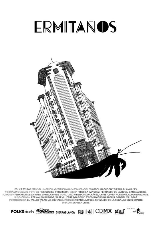 """Proyección """"Ermitaños"""": un documental sobre los habitantes del icónico Edificio Ermita"""