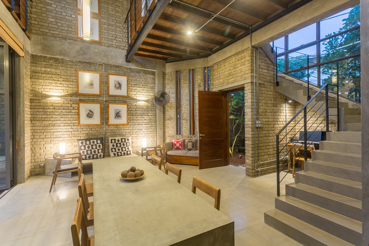 Cement Brick House Chinthaka Wickramage Associates Archdaily
