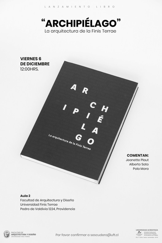 """Lanzamiento libro """"Archipiélago. La arquitectura de la Finis Terrae"""""""