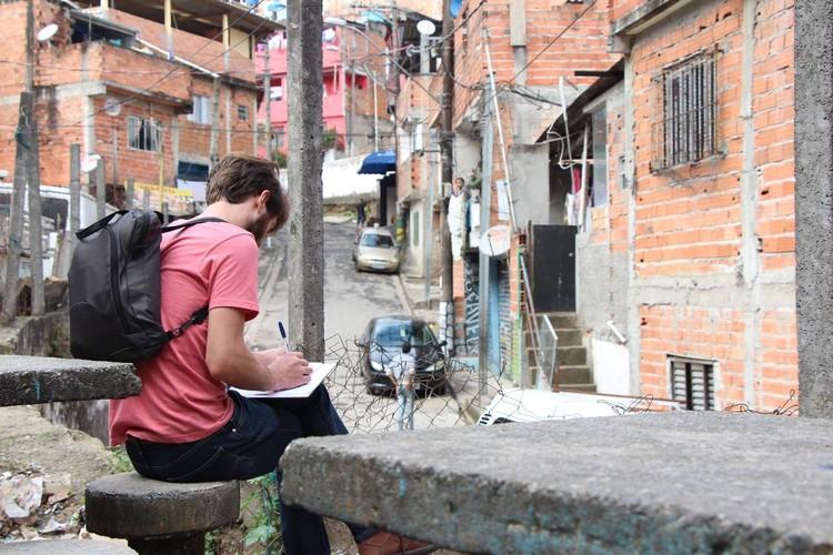 Oficina ATHIS Caviúna, Diadema . Image © Imaginação Foto e Vídeo