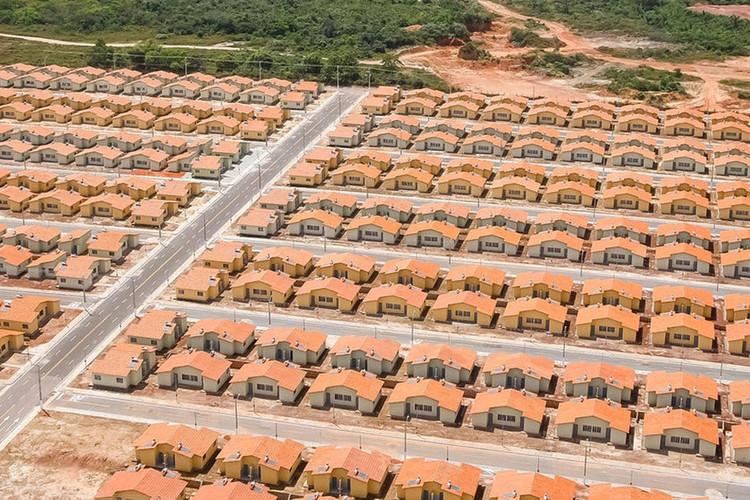 Minha Casa, Minha Vida em São Luís. Imagem: Palácio do Planalto/Isac Nóbrega