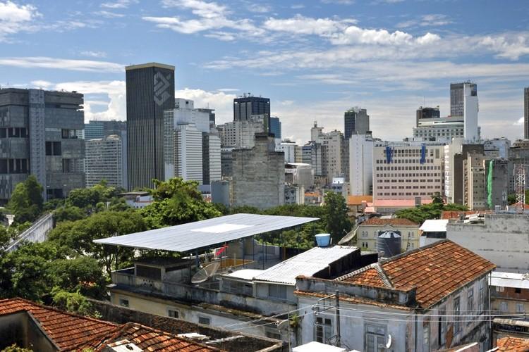 Centro do Rio de Janeiro. Imagem: Petr Dvorak/Flickr. Via Caos Planejado