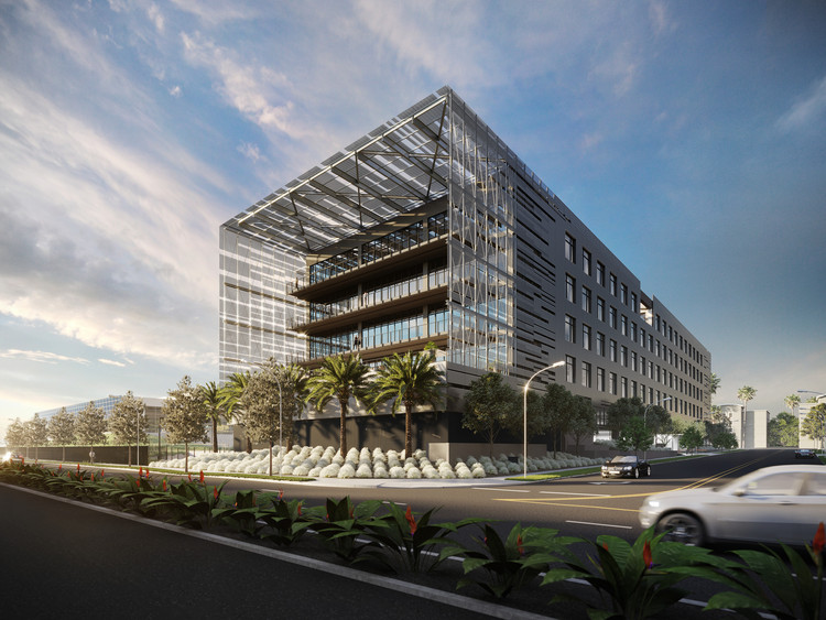 Final Water's Edge Building on Silicon Beach to Open in 2020, Courtesy of SPF:architects