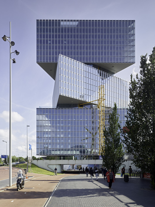 OMA/Reinier de Graaf Reveals Latest Images of the Nhow Amsterdam RAI Hotel, © Walter Herfst