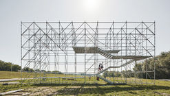 Instalación Sava / Openact Architecture + Sara Palomar Studio