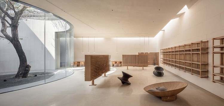 Tea Community Center / Waterfrom Design, reading area. Image © Yuchen Zhao