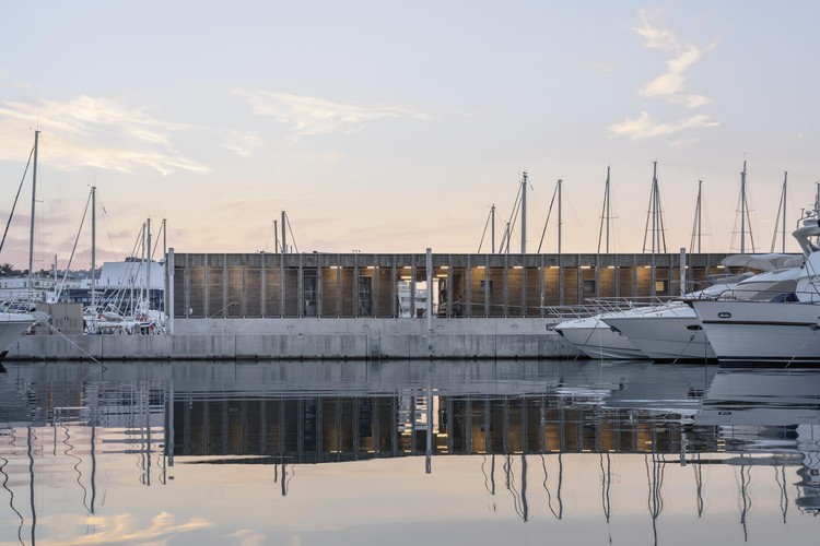 New Services For Boaters On The Port Of Cannes / Heams et Michel, © Aldo Amoretti