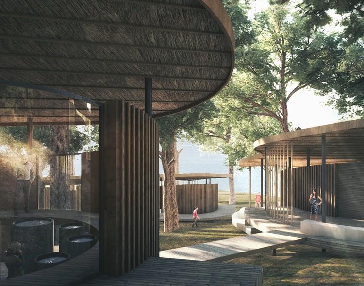 KÂAT Architects Designs New Beach Wildlife Center in Turkey, Courtesy of KÂAT Architects