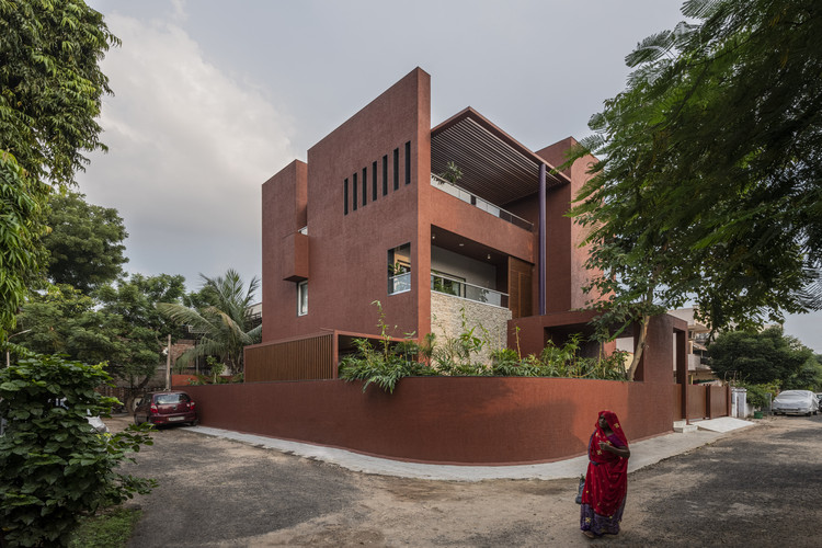 Casa Red Box / The Grid Architects, © 2019 Photographix India