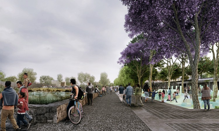 "Call for submissions: LafargeHolcim Awards for Sustainable Construction, ""Hydropuncture"", Global LafargeHolcim Awards Gold winning project 2018 in Mexico City. Image Courtesy of LafargeHolcim Foundation"