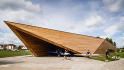 Canoeing Training Base / PSBA + INOONI