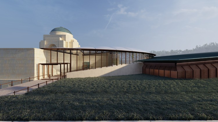 Plans to Modernize and Expand the Australian War Memorial Revealed, Courtesy of COX Render