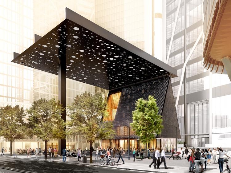 Adjaye Associates e Daniel Boyd se unem para projetar a nova Sydney Plaza, Cortesia de Adjaye Associates