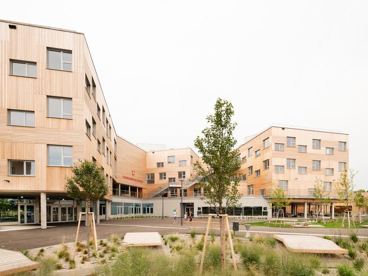 Educational Campus Berresgasse / PSLA ARCHITEKTEN, © Lukas Schaller
