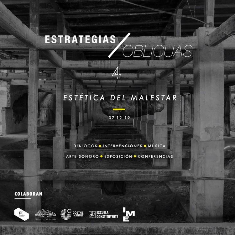 Estrategias Oblicuas 4: Estéticas del Malestar, Diseño: Laura Estévez.
