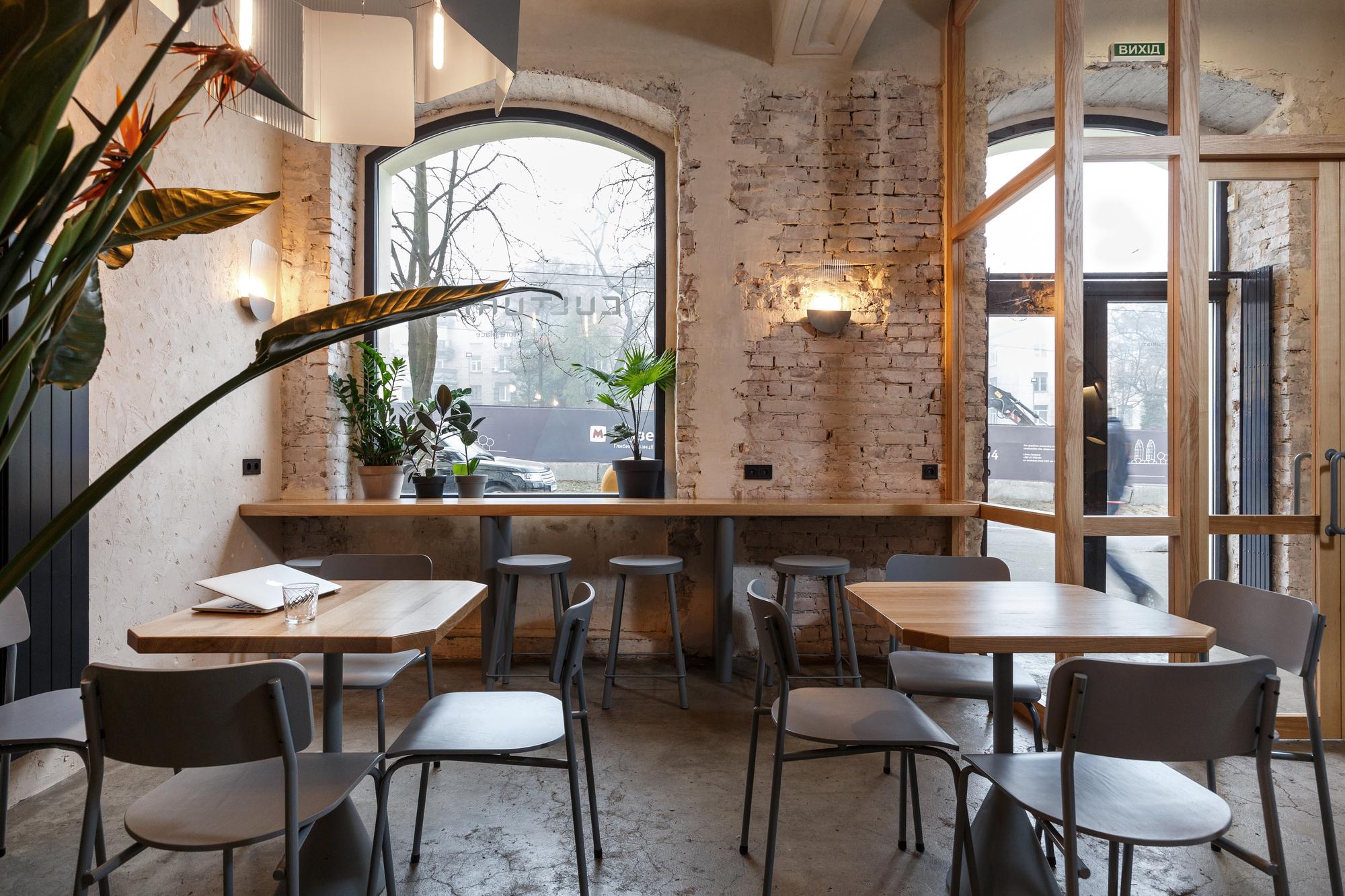 Culturist Coffee House Svoya Studio Archdaily