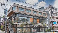 Yanagikoji South Corner Restaurants / Rei Mitsui Architects
