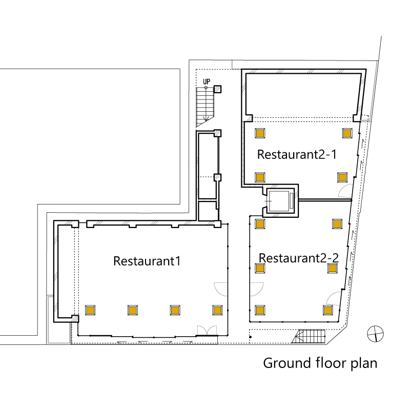 Yanagikoji South Corner Restaurants