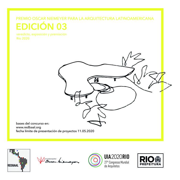 Abren convocatoria de la tercera edición del Premio ON: Premio Oscar Niemeyer para la Arquitectura Latinoamericana, REDBAAL