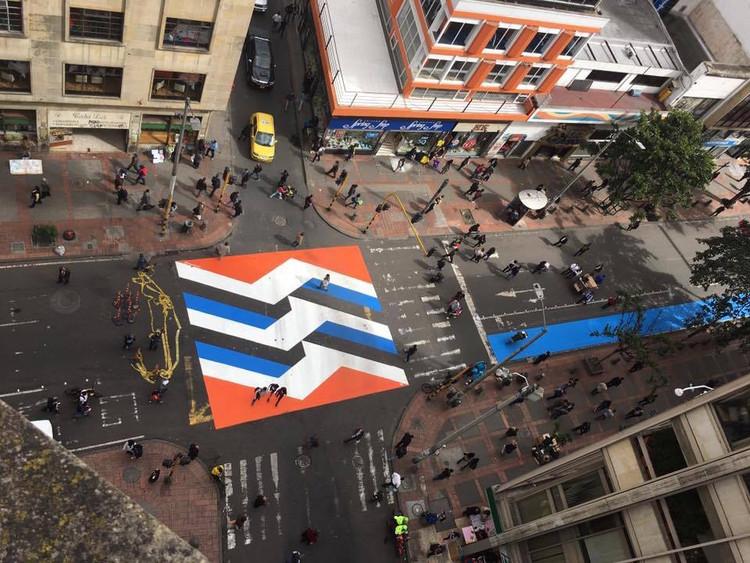 O que é urbanismo tático?, 17 x 17. Imagem: Cortesia de Sharon Figueroa / Camilo Amézquita (Colectivo Microurbanismo)