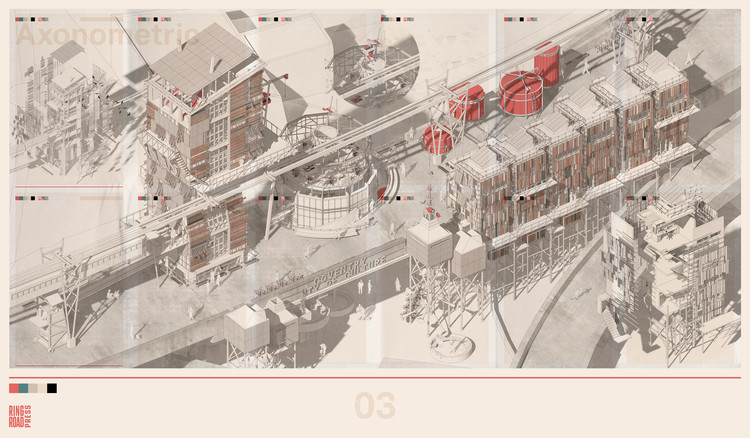 RIBA Announces World's Best Student Architecture Projects of 2019, Samuel Kerin (University of Nottingham) - The Coventry Ring Road Press. Image Courtesy of Royal Institute of British Architects (RIBA)