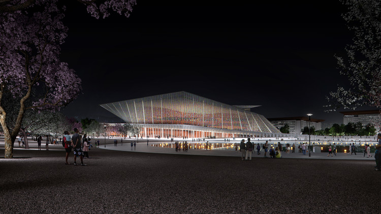 Snøhetta Wins Competition to Create the Xingtai Grand Theater in China, Courtesy of SNØHETTA
