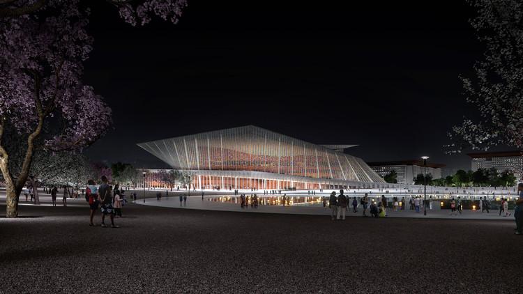 Snøhetta gana concurso para diseñar el nuevo teatro Xingtai en China, Cortesía de SNØHETTA