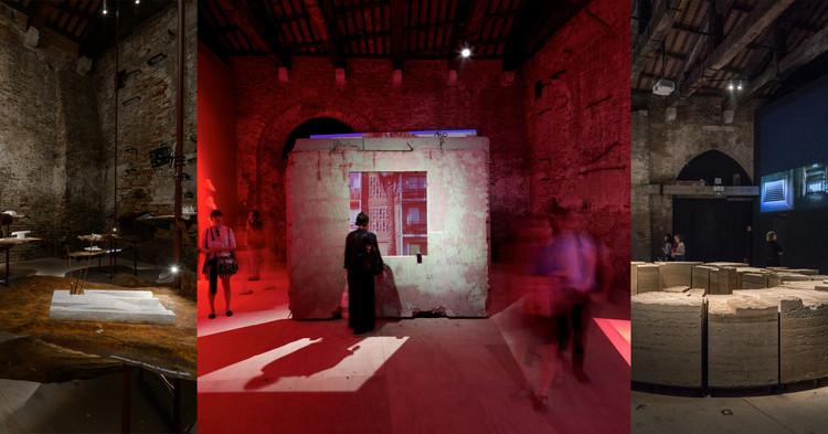 Estos son los proyectos preseleccionados para la curatoría del pabellón de Chile en la Bienal de Venecia 2020, © Andrea Avezzù, Nico Saieh, Laurian Ghinitoiu. ImagePabellones de Chile en la Bienal de Venecia en las ediciones de 2016, 2014 y 2018