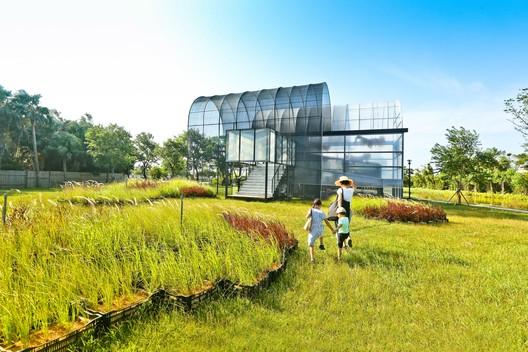 Taoyuan Green Expo 2019 Pavilion / Hanju Chen + Tammy Liou + Alessandro Martinelli