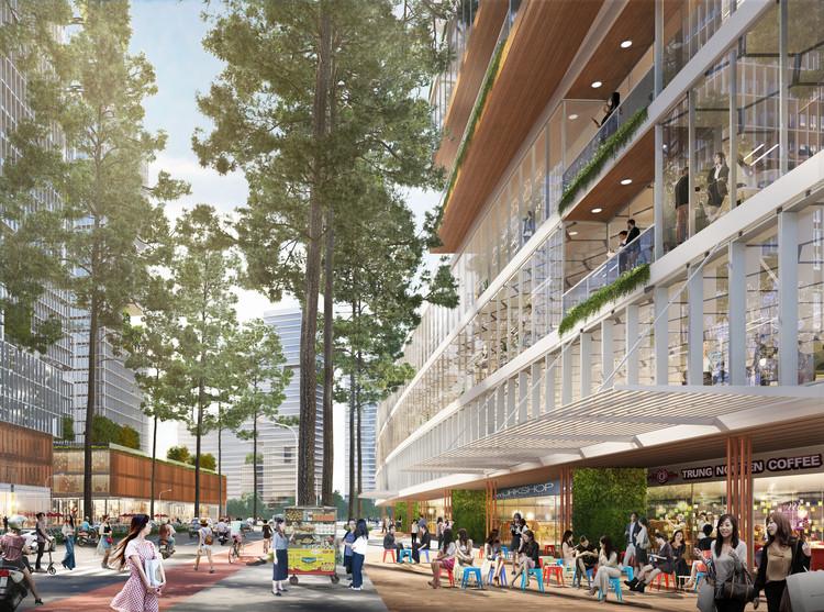 Sasaki to Design Ho Chi Minh City Innovation District in Vietnam, Courtesy of Sasaki
