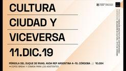 Jornada 'Cultura y Ciudad y viceversa'