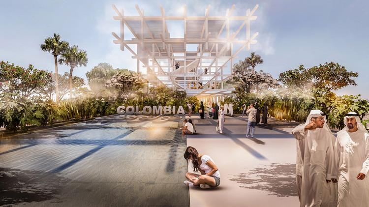 """Pabellón de Colombia en Expo Dubái 2020: """"El ritmo que conecta el futuro"""", Cortesía de ProColombia"""