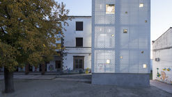 Emergency Stairs in Francisco Parras School / DUNAR arquitectos