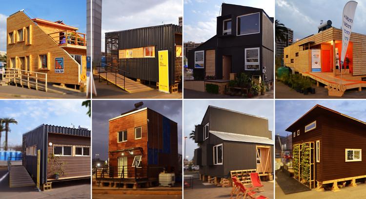 Casa Mercado, ganadora del Construye Solar 2019, Las siete viviendas participantes de Construye Solar 2019. Image Cortesía de Construye Solar