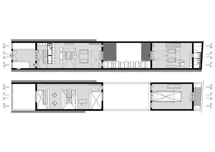 1 и 2 этаж