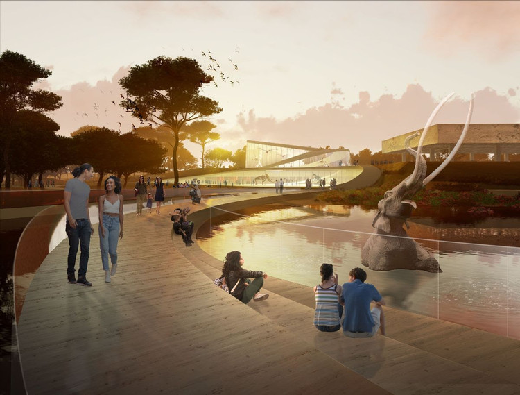 Weiss/Manfredi Selected to Lead La Brea Tar Pits Master Plan, Courtesy of Weiss/Manfredi