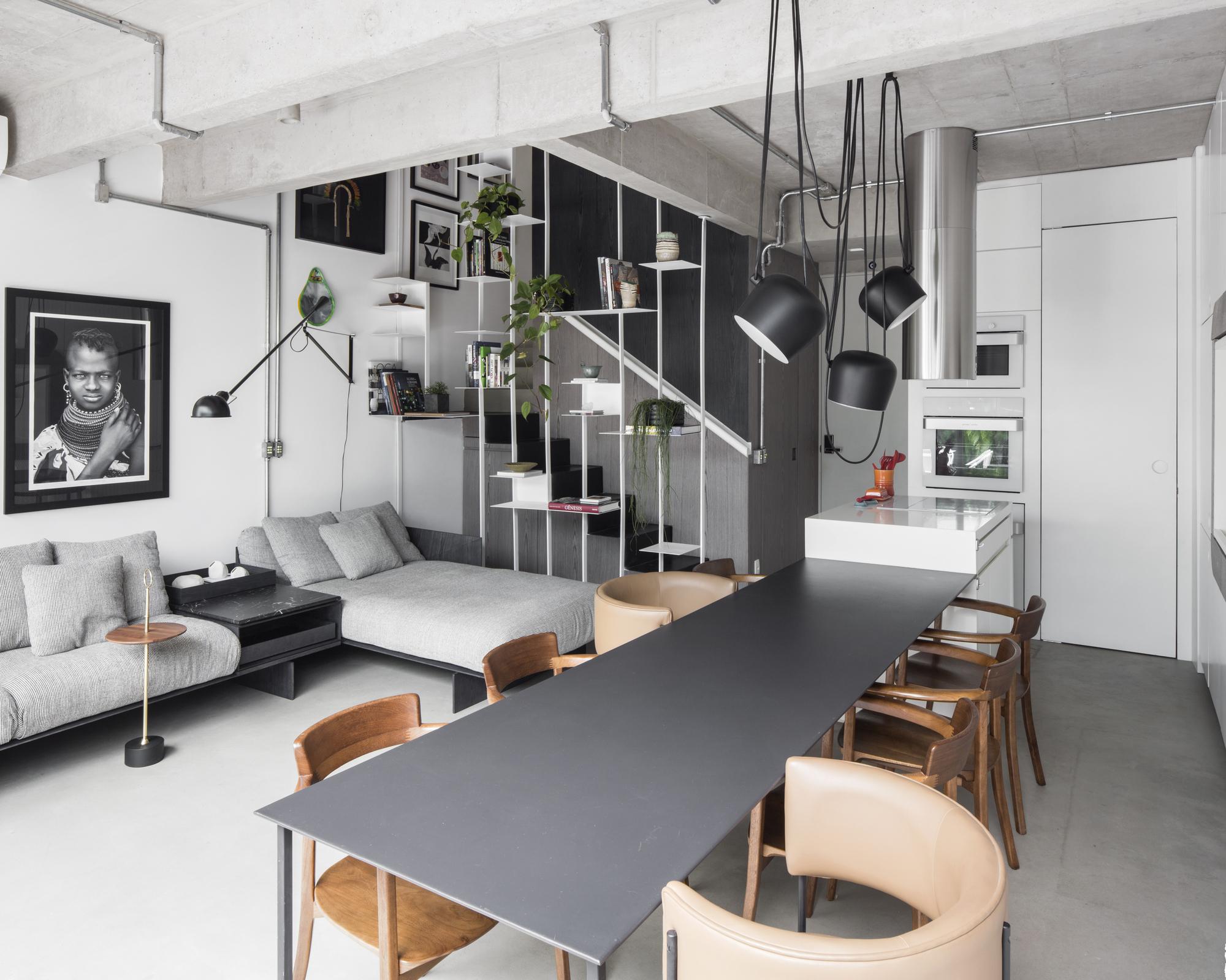 Unique Apartment / flipê arquitetura  ArchDaily