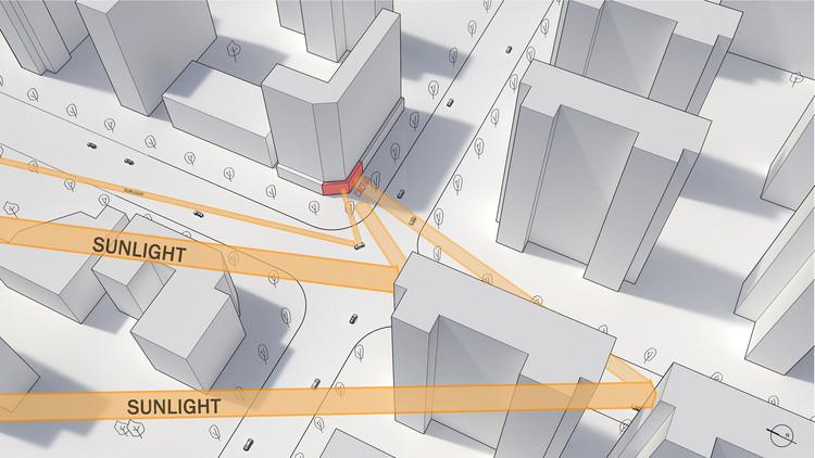 Анализ отражения дневного света