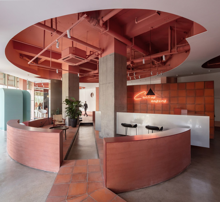 Cactus Fashion Store Boundary Space Design Archdaily