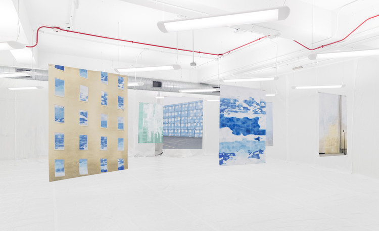 Call for Applications: Douglas A. Garofalo Fellowship 2020–21, Installation view of Anne Dessing: And then when I went to Chicago, that's when I had these outer space experiences and went to the other planets, Garofalo Fellowship exhibition, April 2019.