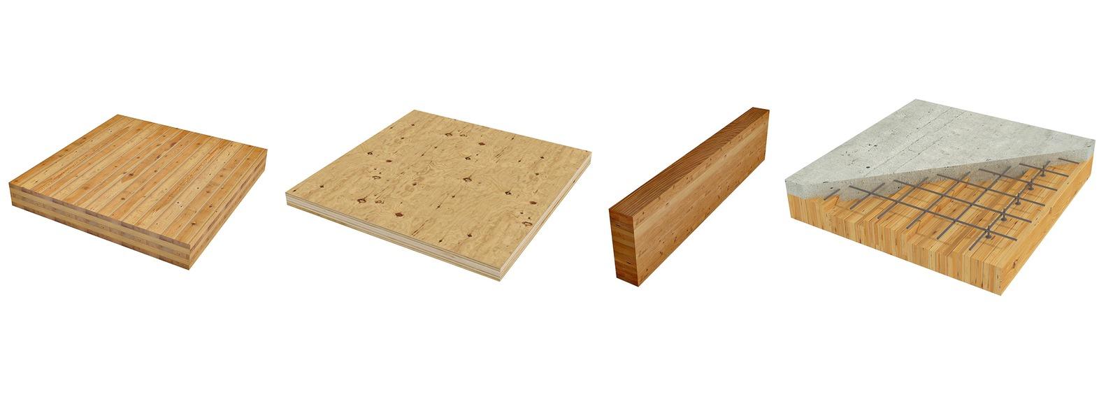 Древесина Тенденции: 7, смотреть на 2020 год, Крест ламинированная древесина (CLT) - Панели LVL - Клееная Ламинированная древесина (Glulam) - Древесно-бетонный композит (TCC).  Изображение © StructureCraft