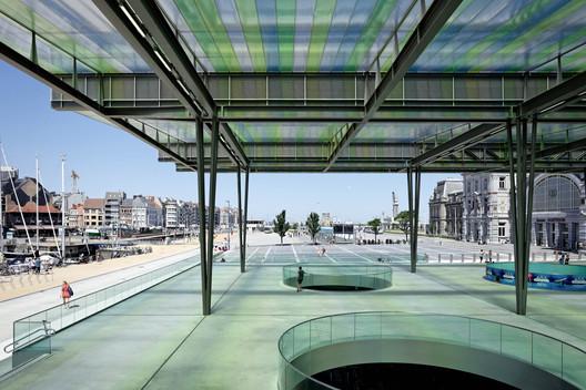 Oostende Station / Dietmar Feichtinger Architectes