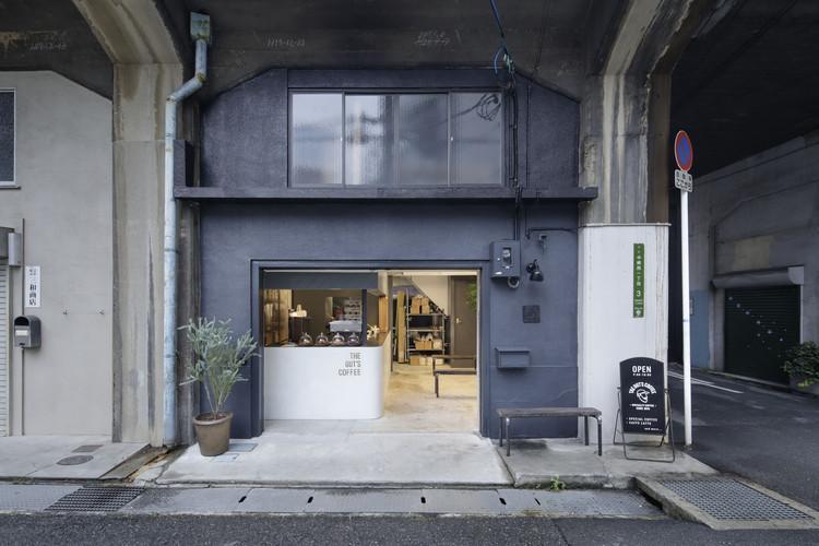 The Gut's Coffee / Hidenori Tsuboi Architects, © Daisuke Shima