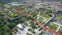 Vanke Community A1-B2 and Bus Station / UV Architecture /Huayi Design