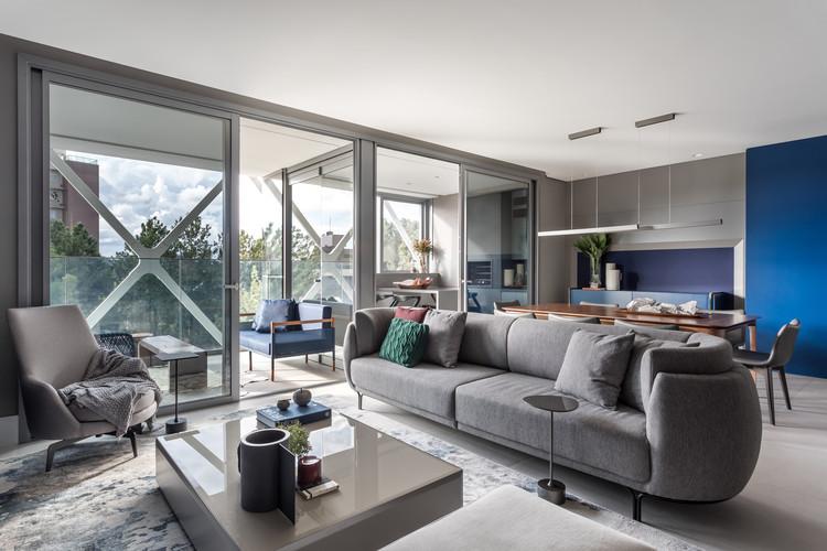 Apartamento Galeria / Talita Nogueira Arquitetura, © Eduardo Macarios