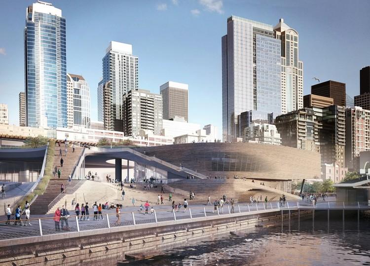LMN apresenta projeto para o novo Pavilhão Oceano do Aquário de Seattle, Pavilhão Oceano do Aquário de Seattle. Imagem Cortesia de LMN Architects
