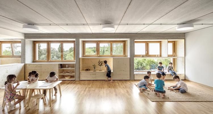El Til·ler School / Eduard Balcells + Tigges Architekt + Ignasi Rius Architecture. Image © Adrià Goula