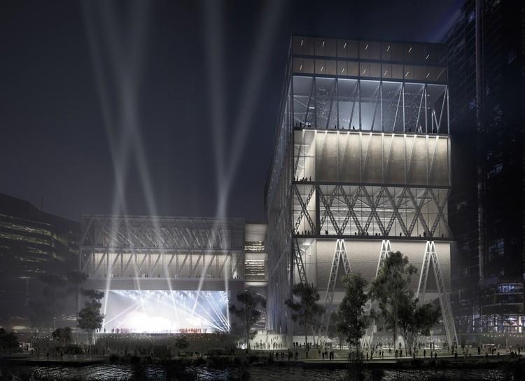 Moreau Kusunoki e Genton projetam uma nova plataforma cultural para Sydney, © Moreau Kusunoki / Genton