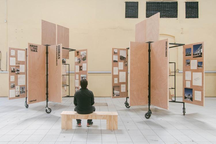Las mejores entrevistas del 2019, Muestra oficial de la XXI Bienal de Arquitectura y Urbanismo de Chile, cuyas actividades centrales se realizaron en el barrio Franklin, Santiago, Chile. Image © Leonardo Quinteros